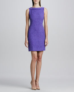 kate spade new york naudia textured sheath dress
