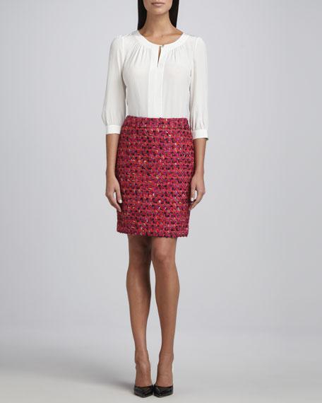 judy tweed pencil skirt