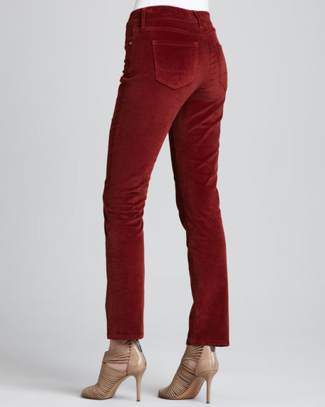 Barbara Boot-Cut Corduroy Jeans, Petite