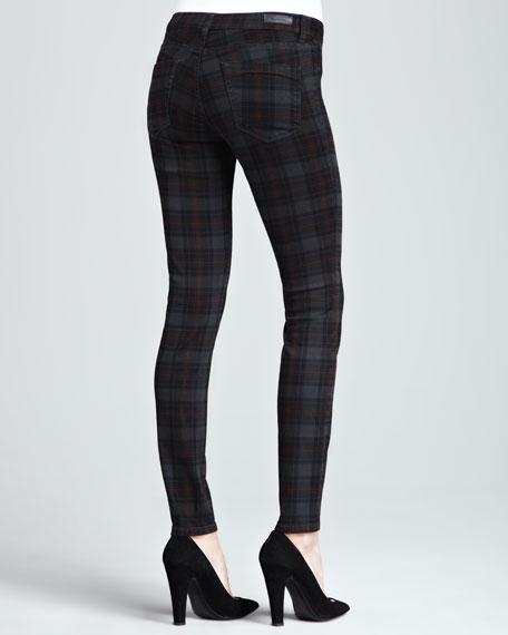Tartin Martin Plaid Skinny Jeans