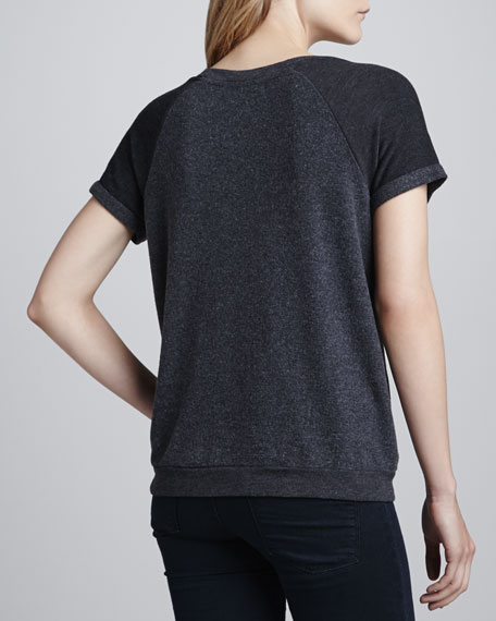 Tennis Anyone Camden Top, Black