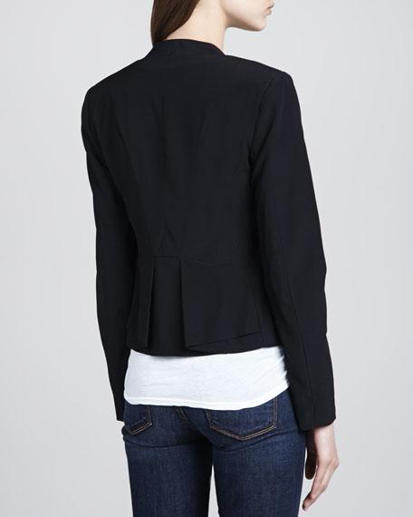 Open Cutaway Tuxedo Blazer