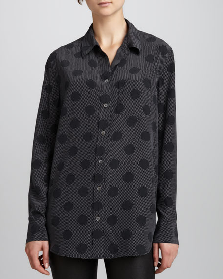 Reese Cosmic-Dot Blouse