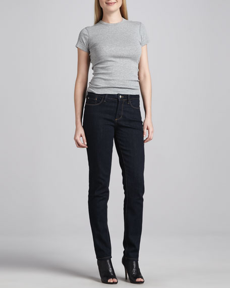 Alina Denim Leggings, Larchmont