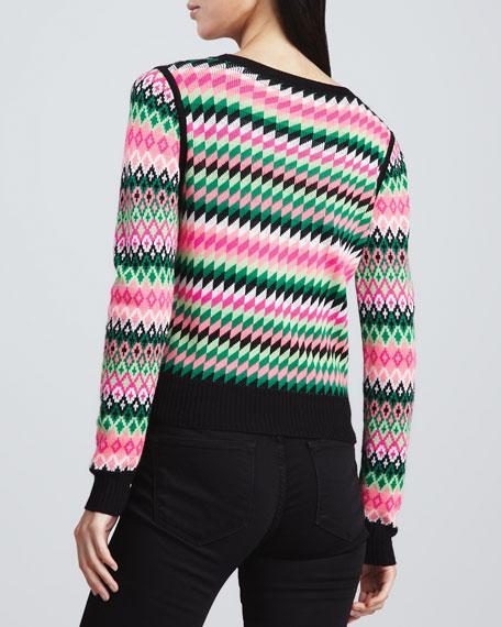 Kuji Reversible Crewneck Sweater
