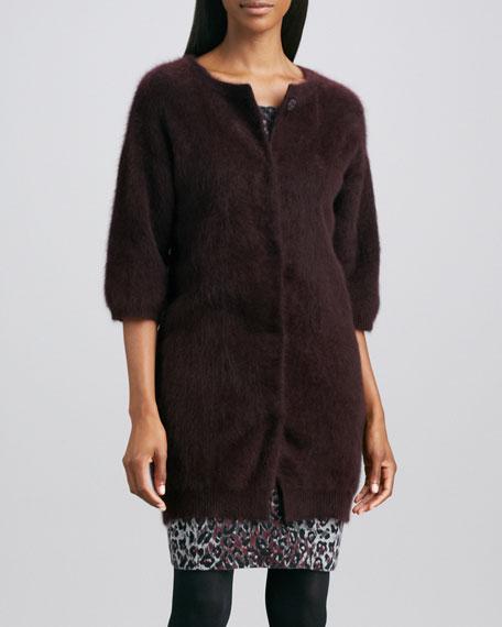 Cashmere Fur Cardigan