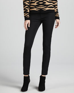 Minnie Rose Ankle-Cropped Skinny Pants