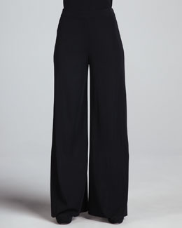 Misook Fit & Knit Palazzo Pants