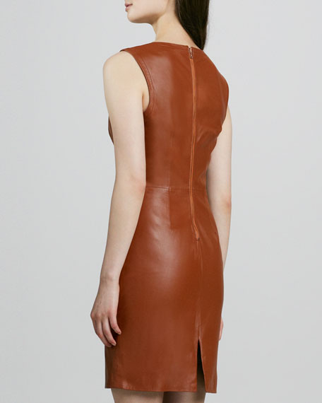 Carnegie Sleeveless Leather Dress