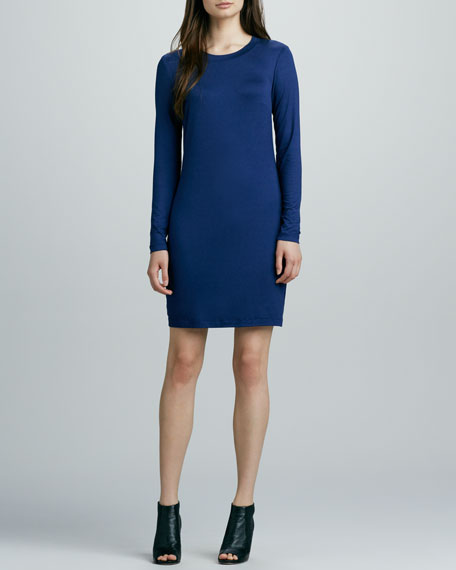 Bellingham Long-Sleeve Jersey Dress