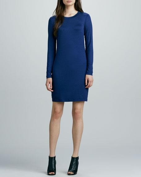 Bellingham Long-Sleeve Jersey Dress
