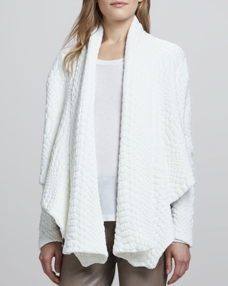 Zita Drape Front Sweater