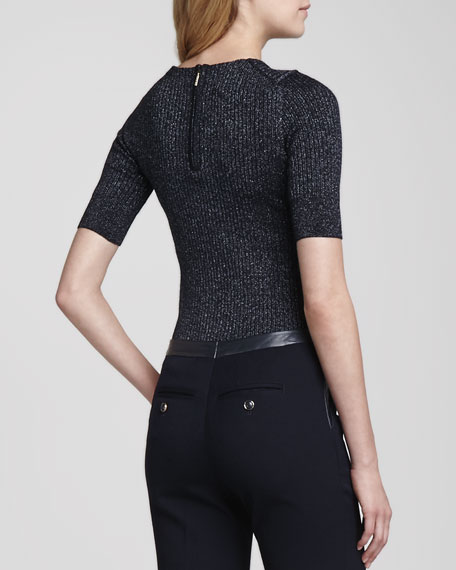 Joella Shimmery Knit Sweater