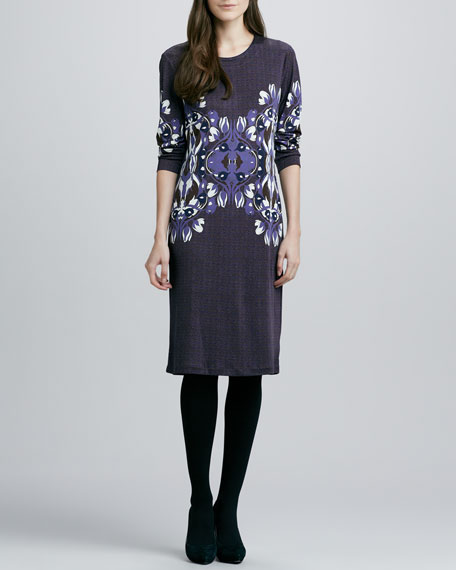 Flavia Long-Sleeve Dress