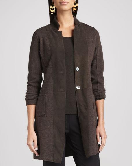 Felted Merino Long Jacket, Women's