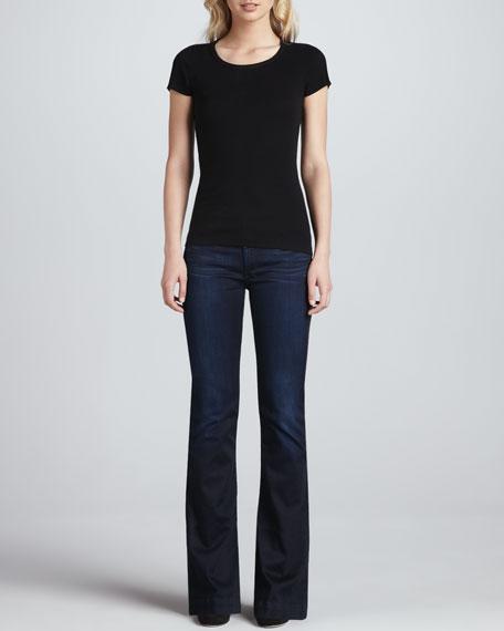 Slim Flared Trouser Jeans