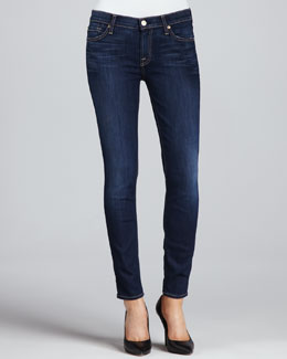 7 For All Mankind The Skinny Cropped Jeans