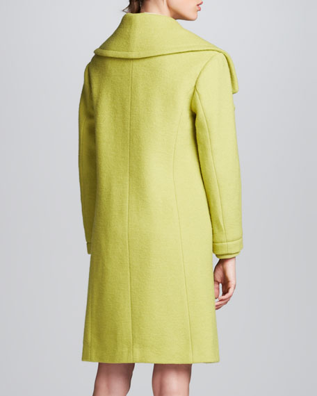 Wool Oversize-Collar Coat