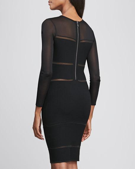 Bandage Knit Cocktail Dress