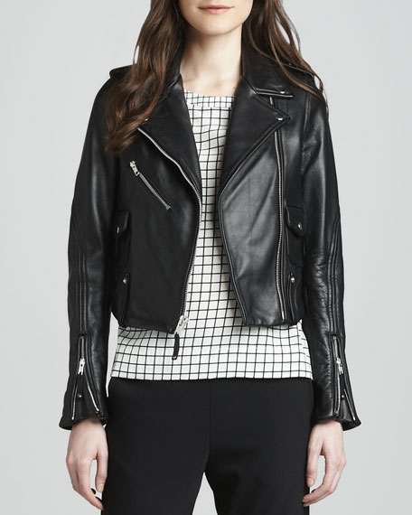 Adashi Leather Motorcycle Jacket