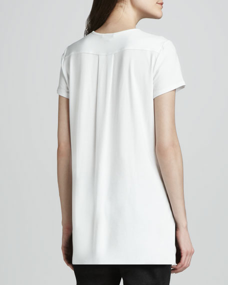 Medea Shirttail Knit Tee