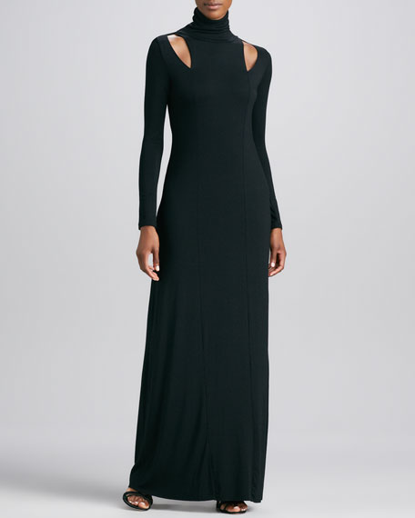 Boyd Long Dress with Cutouts