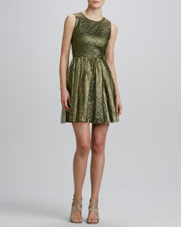 Erin by Erin Fetherston Open-Back Lace Cocktail Dress