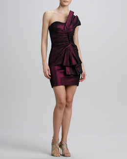 Erin by Erin Fetherston Strapless Folded Bow Cocktail Dress