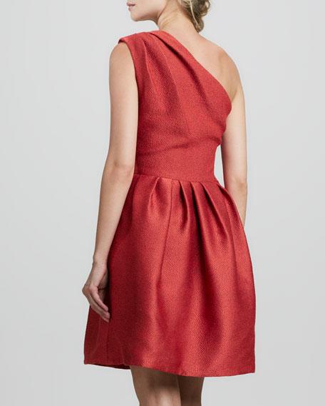 One-Shoulder Bell Dress