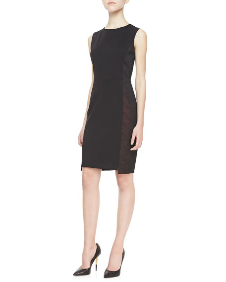 Judy Sheath Paneled Dress