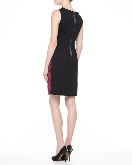 Ladella Sheath Dress, Couture Pink