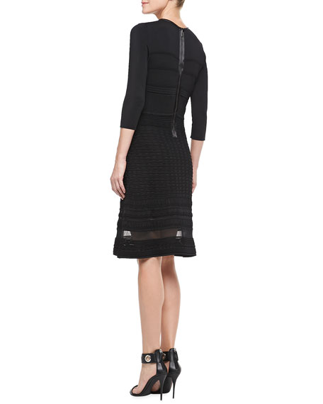 Sasha Fit-&-Flare Dress