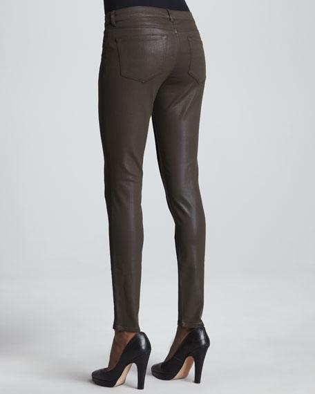 Azella Waxed Skinny Jeans