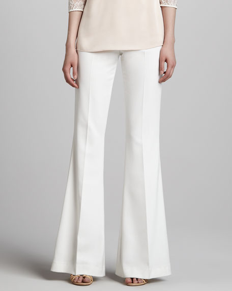 Nha Khanh Flared High-Waist Pants