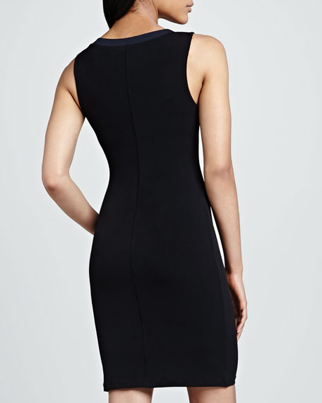 Sleeveless Stretch-Jersey Dress