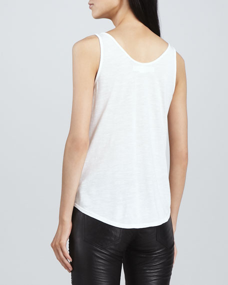 Loose Sleeveless Slub Tank