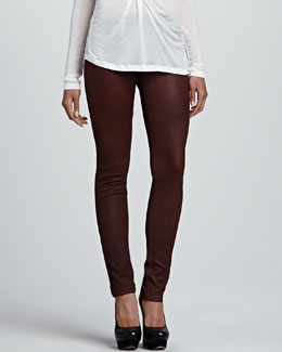 Graham & Spencer Leather Skinny Pants