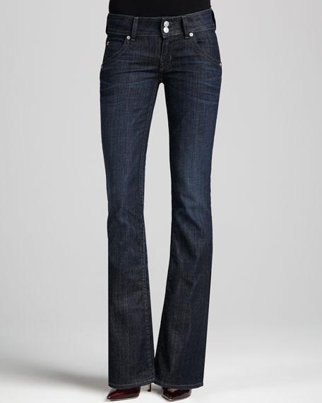 Signature Savage Boot-Cut Jeans