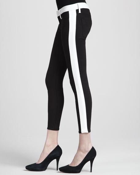 Leelou Insomniac Two-Tone Skinny Pants