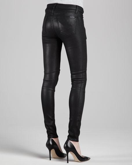 Stark Waxed Motorcycle Pants, Black
