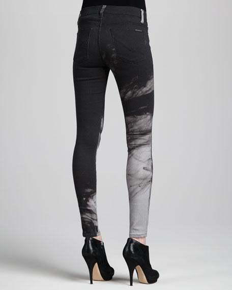 Nico Printed Mid-Rise Skinny Pants