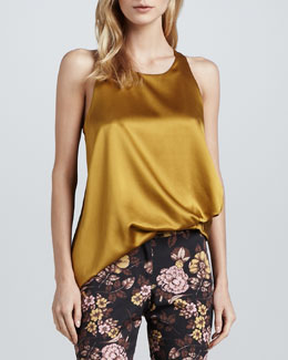 Elizabeth and James Kimera Sleeveless Satin Top
