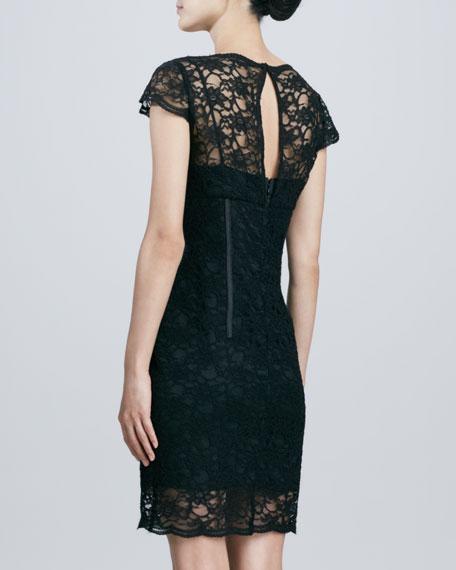 Lace Corset Cocktail Dress