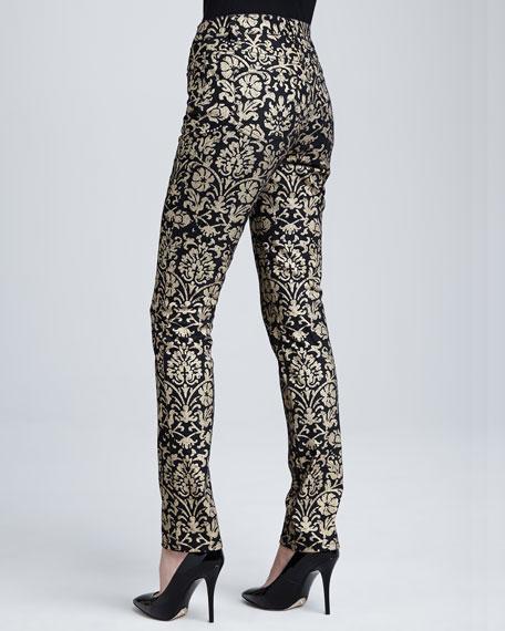 Curvy Slim Printed Jeans