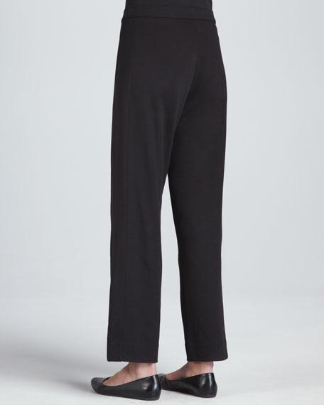 Interlock Stretch Pants, Petite