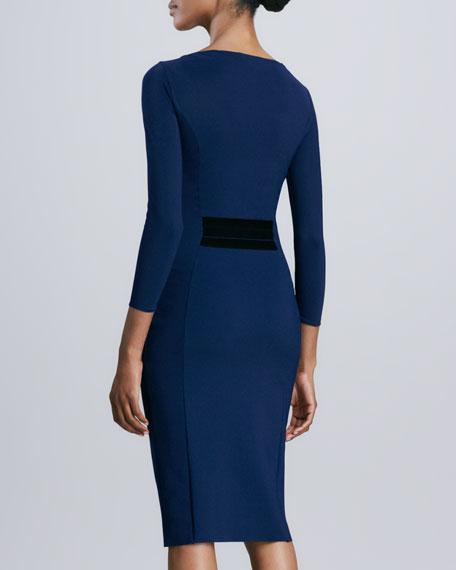 Rafaella Paneled-Waist Jersey Dress