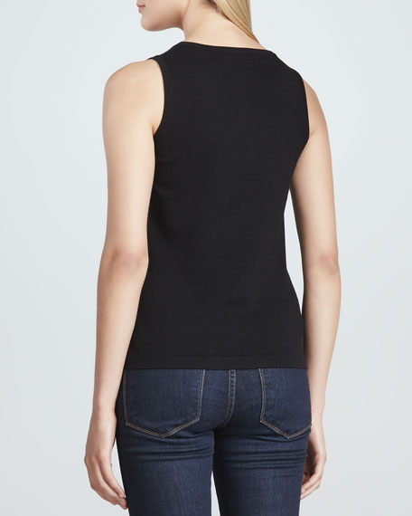 Scoop-Neck Knit Tank, Women's