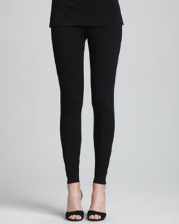 Eileen Fisher Viscose Jersey Ankle Leggings, Women's