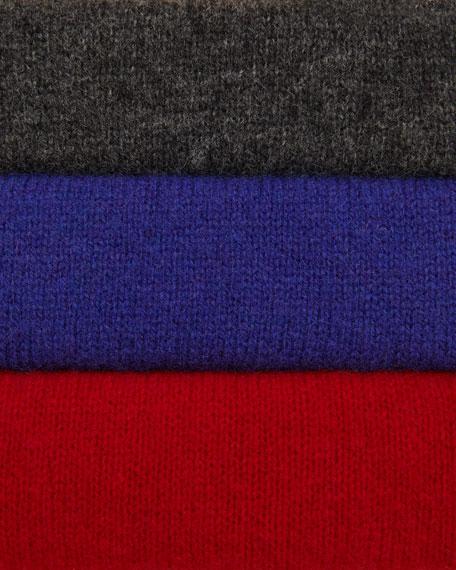 Merino-Wool Open Jacket