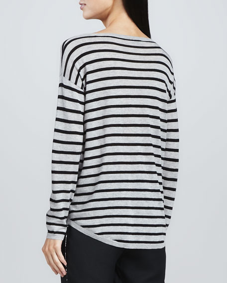Millie Striped Slub Sweater